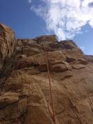 Rock Climbing Photo: We didn't pet the tiger...