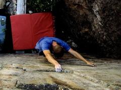 Rock Climbing Photo: Nice big start holds.