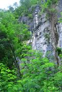 Rock Climbing Photo: Before you reach the overhang on Kanda 5.10b
