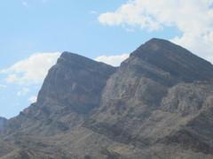 Rock Climbing Photo: Lake Mead Buttress. The LMB Original Route follows...