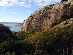 Rock Climbing Photo: This was taken just after crossing the approach br...