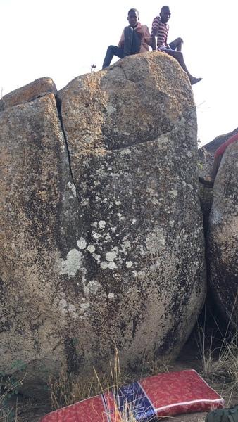 Rock Climbing Photo: A view of Twiga (Giraffe in Swahili) Finga