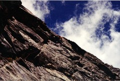 Rock Climbing Photo: P2 of Rastaman Route, more goodness