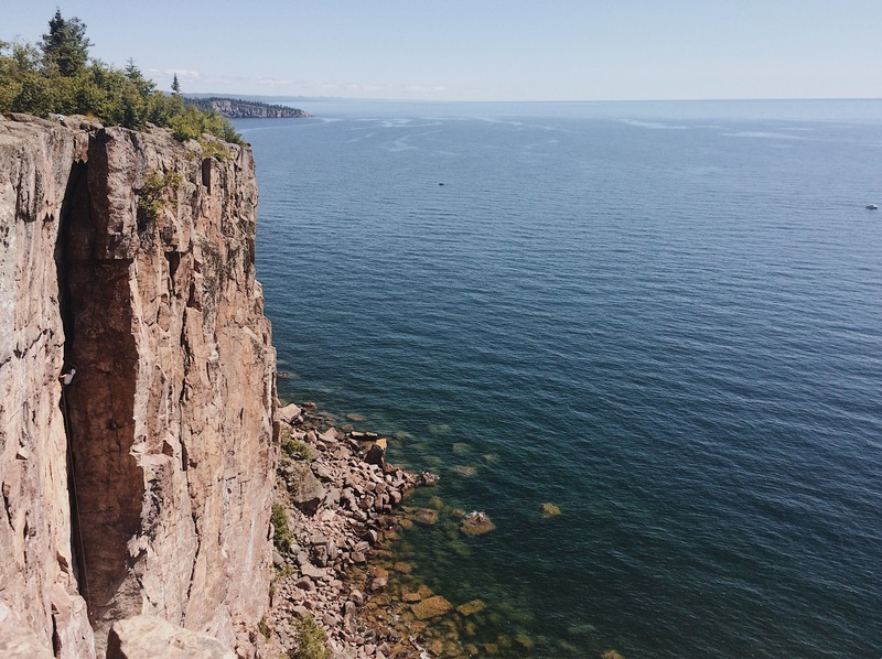 Harrison working his way up Superior Crack on a beautifuly July afternoon.