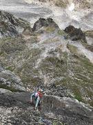 Rock Climbing Photo: P2 Cramp
