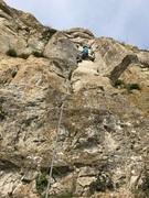 Rock Climbing Photo: The Cuttings, Portland, Dorset