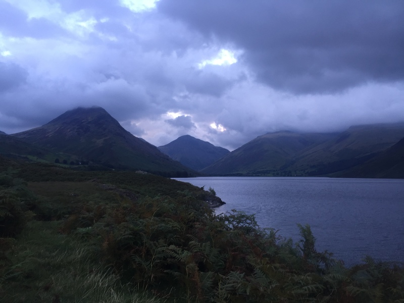 Scafell Pike from Wastwater