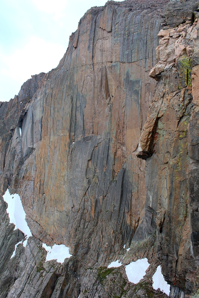 Rock Climbing Photo: A reasonably sharp view of the center and left sid...