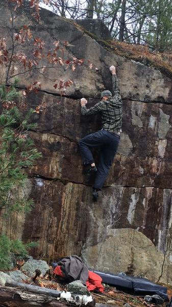 Rock Climbing Photo: Ol rusty