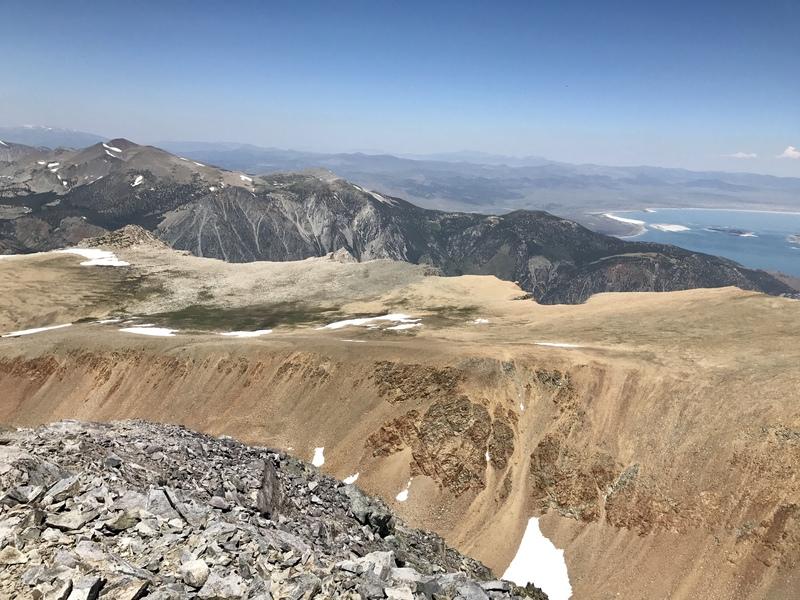 Rock Climbing Photo: Looking across Glacier Canyon toward the Dana Plat...
