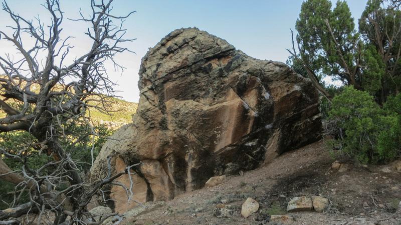 Rock Climbing Photo: Sad Hill Boulder.