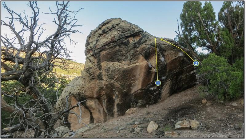Rock Climbing Photo: 2. The Bad.