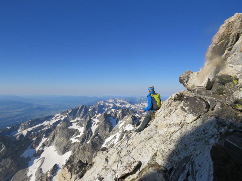 Rock Climbing Photo: Near the summit