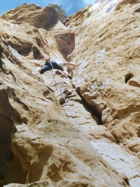 Rock Climbing Photo: Stoney point 5.3? Ramp.