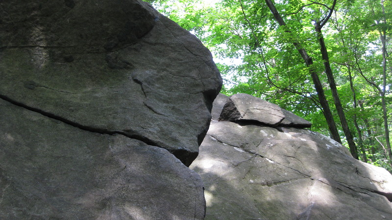 Rock Climbing Photo: Anything past the arete is OFF for the Wave full (...