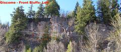 Rock Climbing Photo: Eaglet Bluff