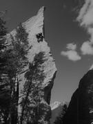 Rock Climbing Photo: Edge of Time.