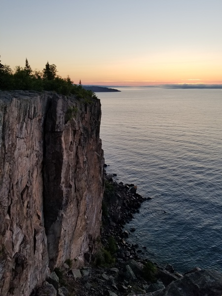 Sunrise overlooking Superior Crack