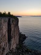 Sunrise overlooking Superior Crack