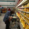Ok, I went looking for a shot of Tower, but all I found was a pic of my 95 year old mom grocery shopping. Seen here &quot;sending&quot; the OJ isle. <br> <br> You're welcome. BTW, I categorized it as an &quot;action photo&quot;, because the other choices seemed inadequate. If it is of any assistance, always grab the &quot;EXTRA pulp&quot; for her if you take her out shopping. That's a little extra beta for you.