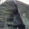 The Split Boulder