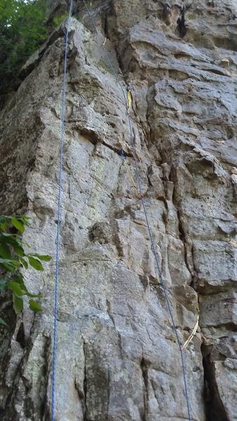Rock Climbing Photo: Landslide