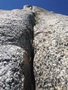 Rock Climbing Photo: Glaciated Alpine Splitter!!