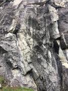 Rock Climbing Photo: Sprinklers Save Lives (Sprad, 5.10+, left line) & ...
