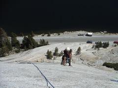 Rock Climbing Photo: Brad on The Boltway