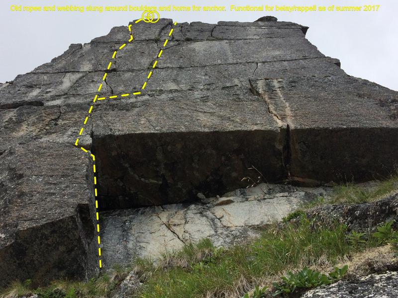 Rock Climbing Photo: The Growler L & R variations