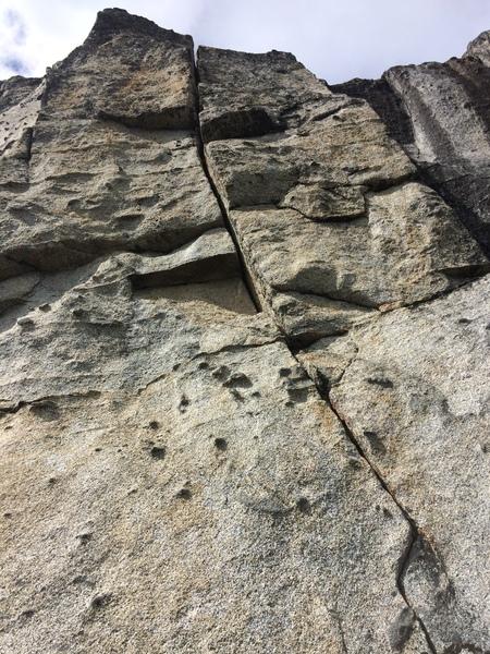 Rock Climbing Photo: Straight Eight