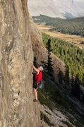 Rock Climbing Photo: Short but pretty Columbia Icefield area , Jasper N...