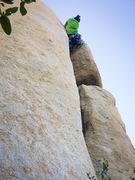 Rock Climbing Photo: I'm at the crux!