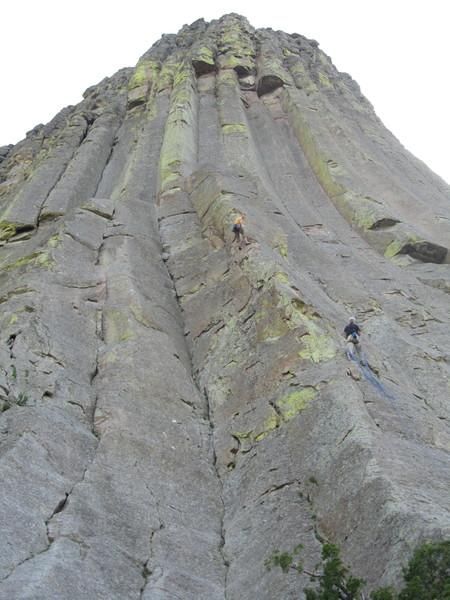 Rock Climbing Photo: Shoulder