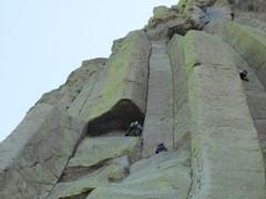 Rock Climbing Photo: M. West free var.