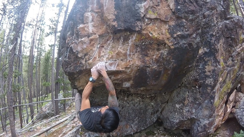 Rock Climbing Photo: Crimp rail.