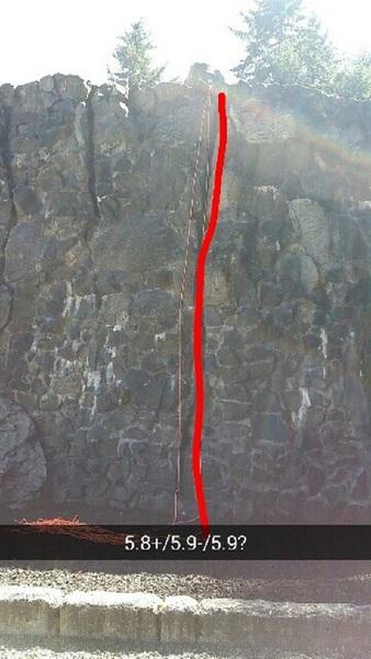 Rock Climbing Photo: Crack Coke Kane