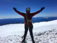 Rock Climbing Photo: Ross on the summit!
