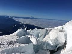 Rock Climbing Photo: Upper Nisqually Glacier