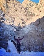 Rock Climbing Photo: Snowy Eldo