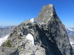 Rock Climbing Photo: Approaching Viennese.