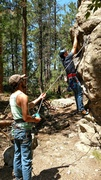 Rock Climbing Photo: Just getting started. A beautiful cool down.
