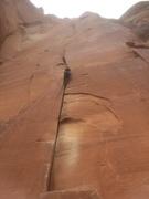Rock Climbing Photo: Warm up...?
