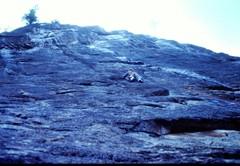 Rock Climbing Photo: First Ascent Wonder Wall 1976