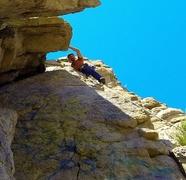 Rock Climbing Photo: Sport climbing at Dinosaur Rock, Carson City