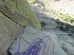Rock Climbing Photo: Mac West, Hong Variation