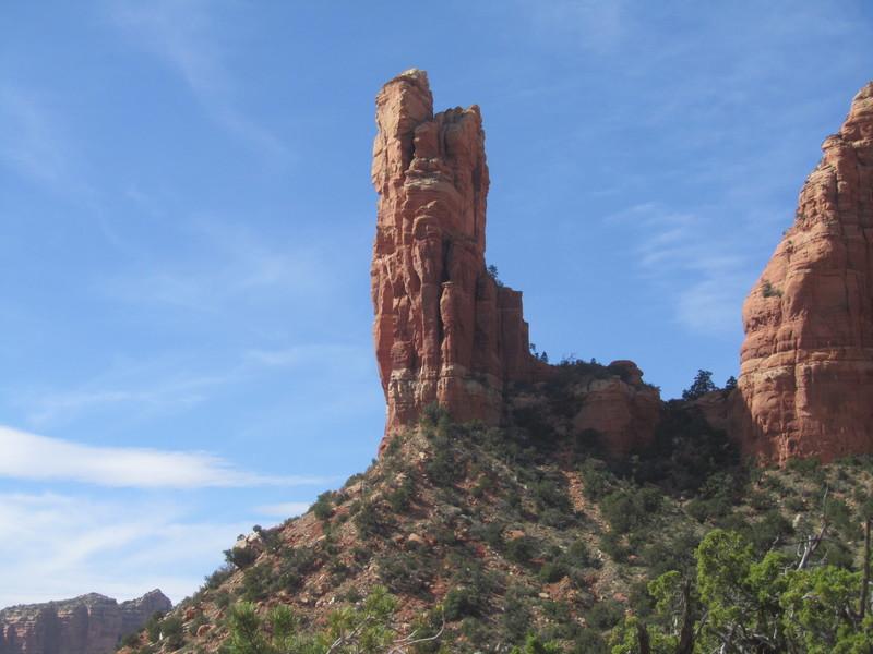 Rock Climbing Photo: Oak Creek Spire