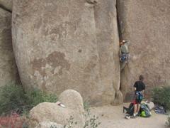 Rock Climbing Photo: Y-Crack