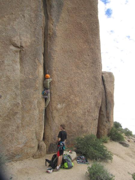 Rock Climbing Photo: Why Crack