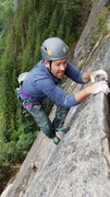 Rock Climbing Photo: Brian is stoked for something positive to hold ont...